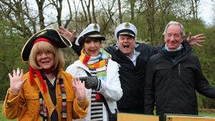 Celebrity 5 Go Barging - Channel 5